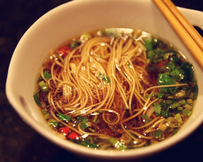 Pin Tweet Share Yum Email Print Recipe Quick & Easy Chinese Noodle Soup