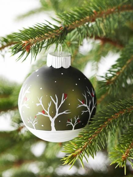37 DIY Simple Hand Painted Ornament Ideas
