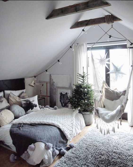 54 Awesome Decoration Ideas to Make Your Bedroom Cozy and Warm