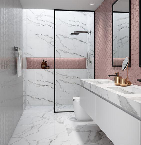 64 Adorable Bathroom Tile Design Ideas And Decor