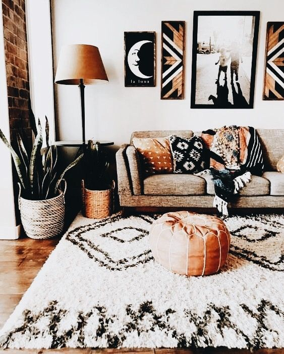57 Inspiring Bohemian Living Room Design Ideas For Your Home