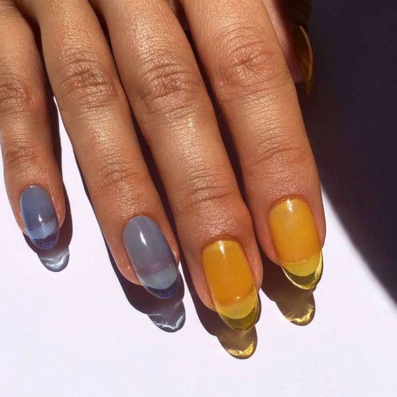 30+ Trendy Jelly Nails New Trend Are Perfect for This Summer 2019